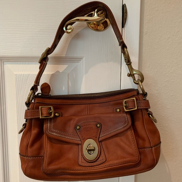 Coach Handbags - Coach Anniversary Leather bag